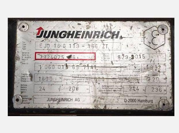 Jungheinrich-EJD16-166ZT-Hochhubwagen http://www.zeiss-forkliftcenter.at
