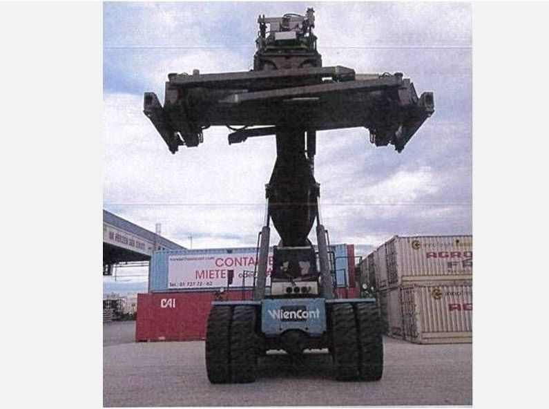 SMV-SC4531CB5-Vollcontainer Reachstacker http://www.zeiss-forkliftcenter.at
