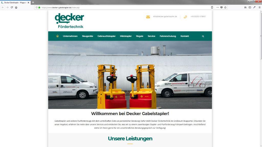 Decker Fördertechnik Handels GmbH