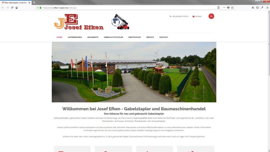 Efken Gabelstapler & Baumaschinenhandel