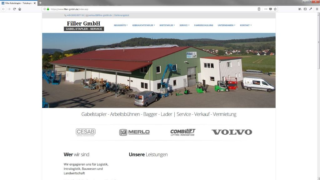 Filler Gabelstaplerservice GmbH