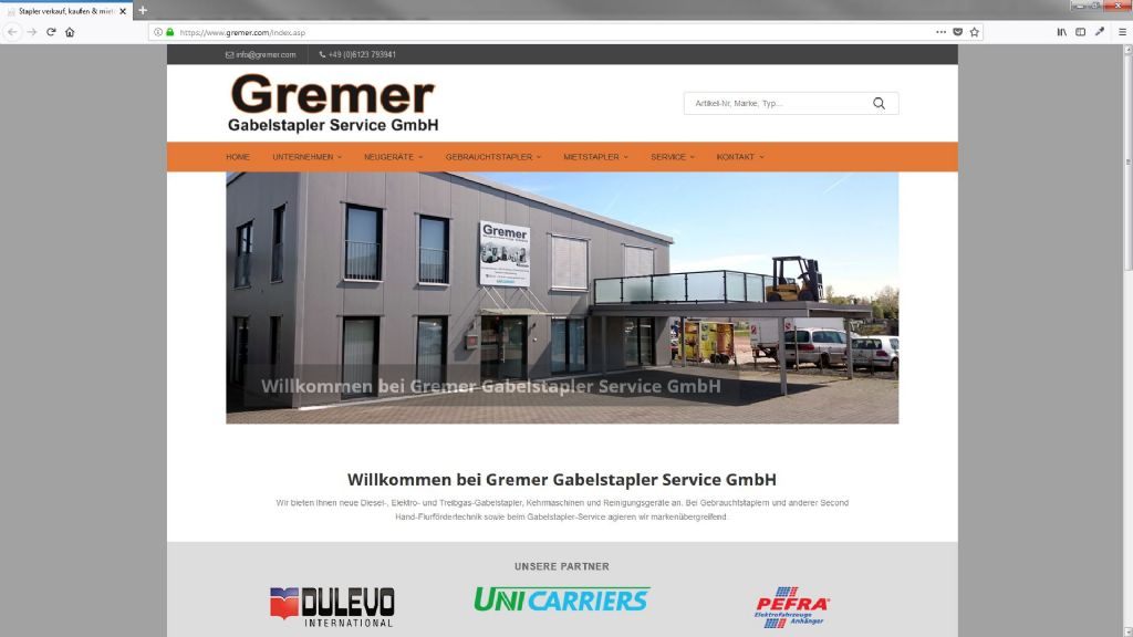 Gremer Gabelstapler Service GmbH