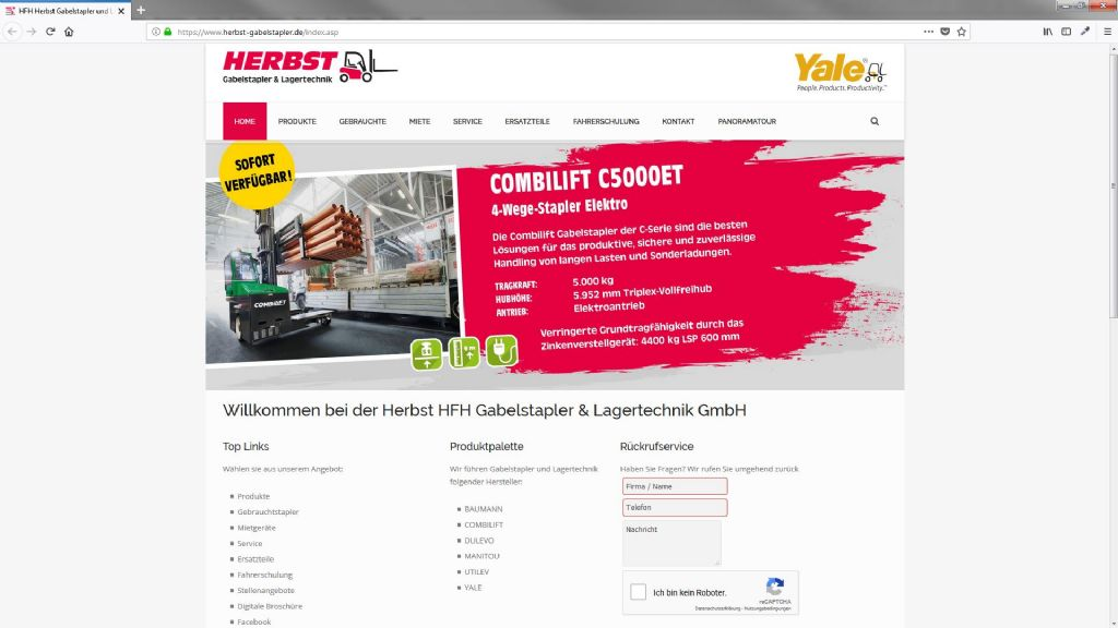 HFH Herbst Gabelstapler und Lagertechnik GmbH