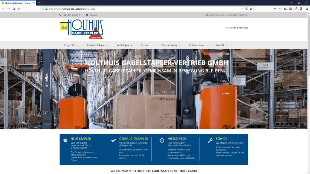 Holthuis Gabelstapler Vertrieb GmbH