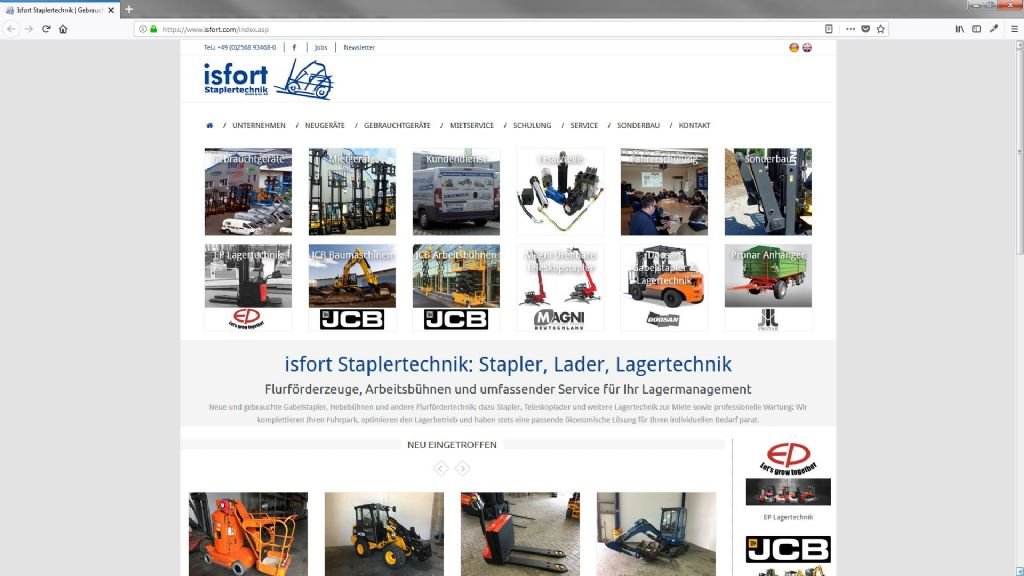 Isfort Staplertechnik GmbH & Co KG
