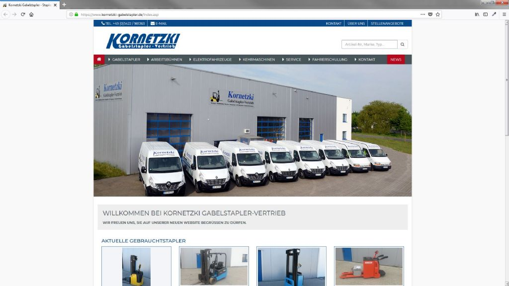 Kornetzki Gabelstapler Vertrieb GmbH