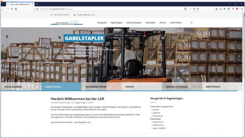 Lausitzer Gabelstapler und Regalanlagen GmbH