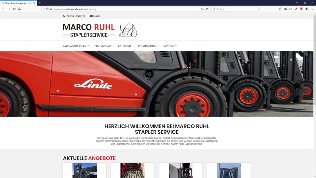 Marco Ruhl Staplerservice