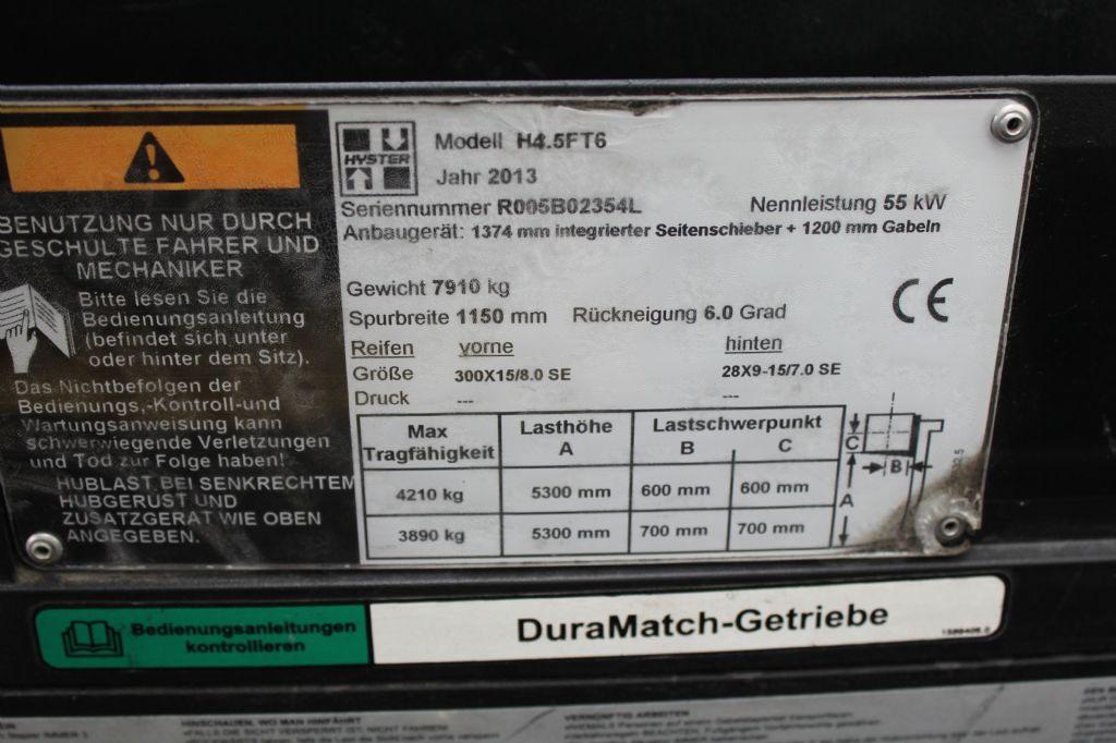 Hyster H 4.5 FT 6 Dieselstapler agravis-stapler.de