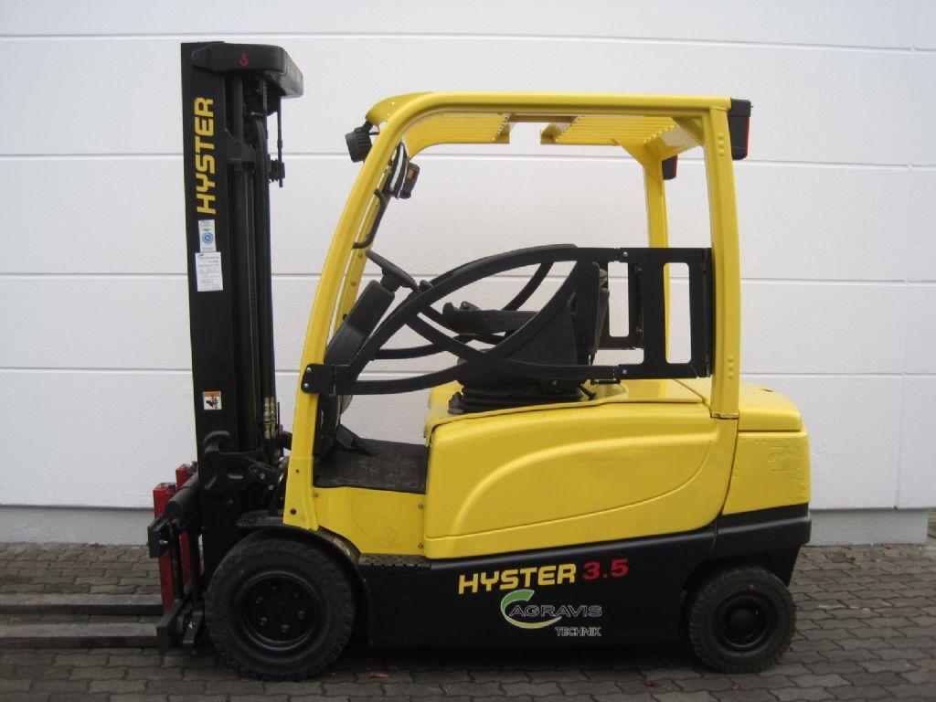 Hyster J3.5XN Elektro 4 Rad-Stapler agravis-stapler.de
