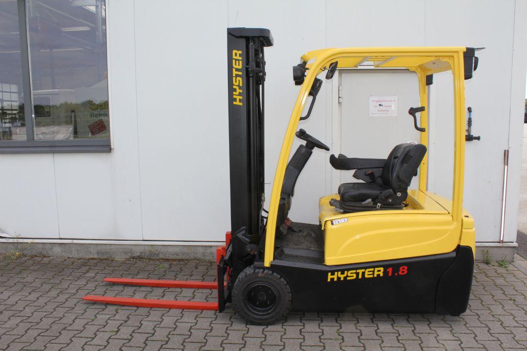 Hyster J 1.8 XNT LWB Elektro 3 Rad-Stapler agravis-stapler.de