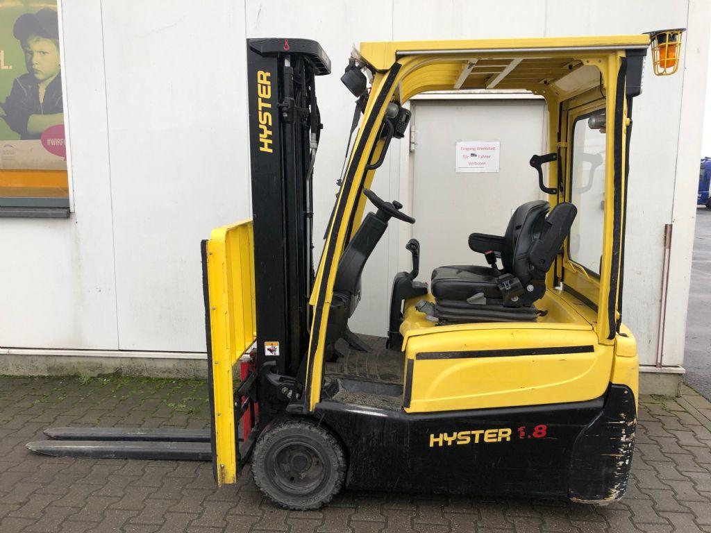 Hyster J 1.8 XNT MWB  Elektro 3 Rad-Stapler agravis-stapler.de