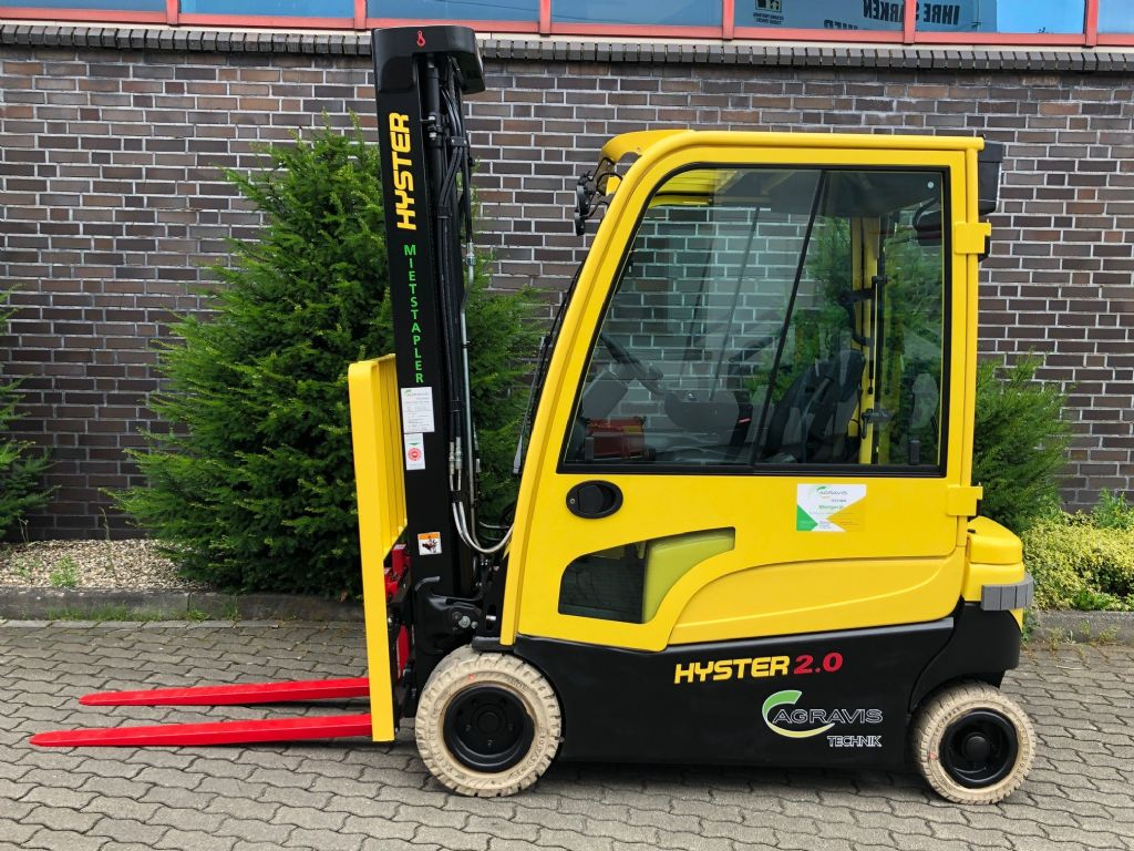 Hyster J 2.0 XN LWB  Elektro 4 Rad-Stapler agravis-stapler.de