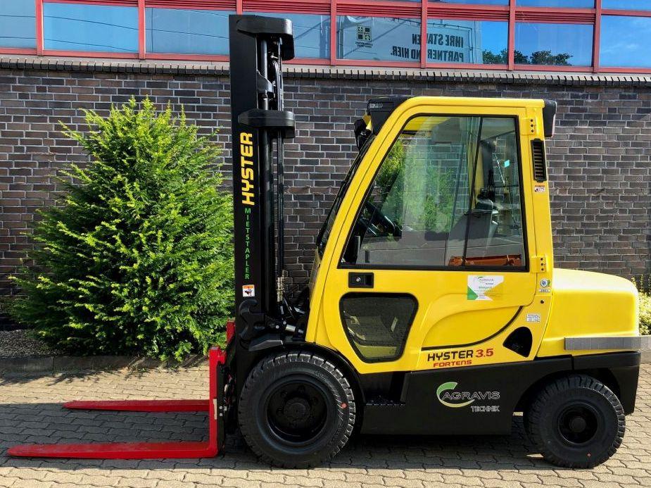 Hyster H 3.50 FT Dieselstapler agravis-stapler.de