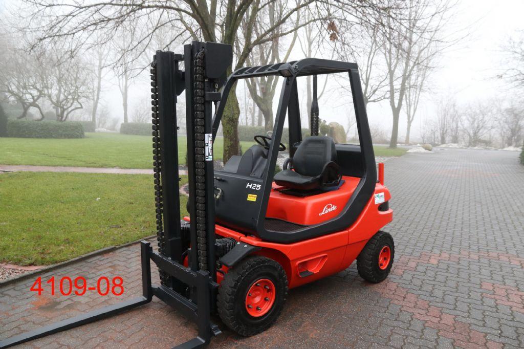 Linde-H 25 D-Dieselstapler-http://www.albers-gabelstapler.de
