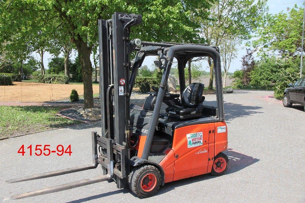 Linde-E 20 PH 01-Elektro 4 Rad-Stapler-http://www.albers-gabelstapler.de