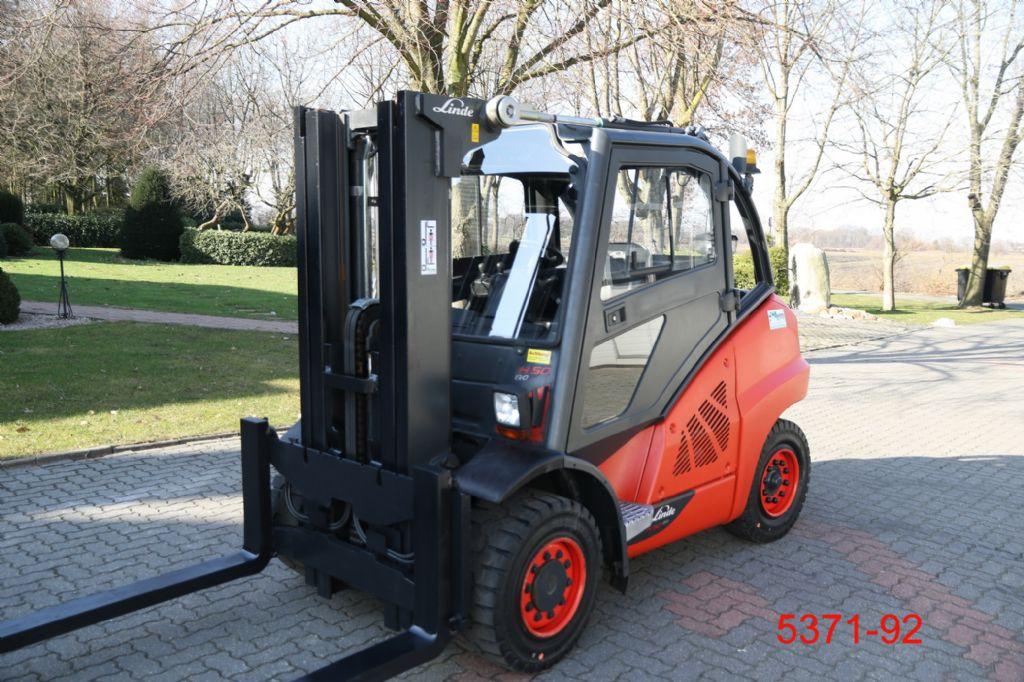 Linde-H 50 D 600 Container-Dieselstapler-http://www.albers-gabelstapler.de