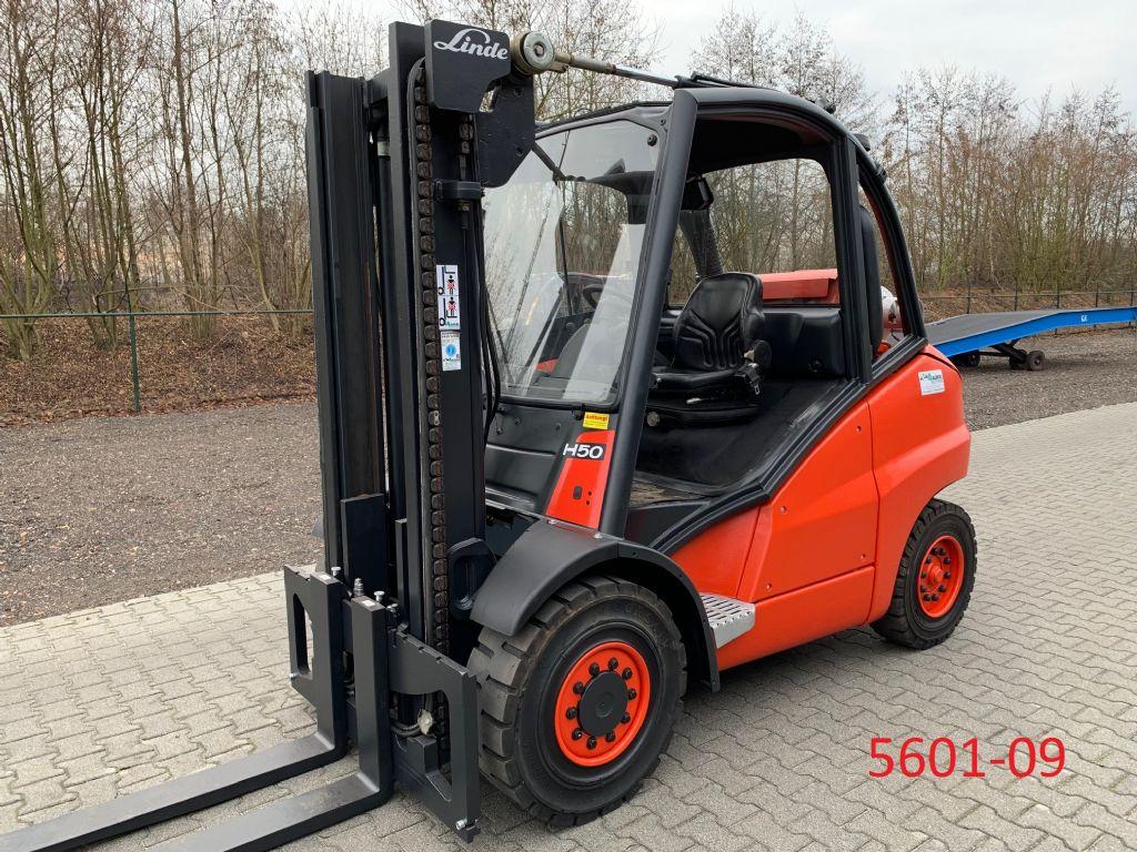 Linde-H 50 T-Treibgasstapler-http://www.albers-gabelstapler.de