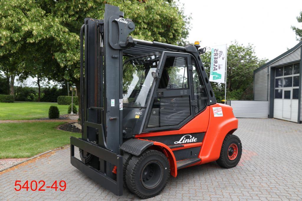 Linde-H 80 D 900-Dieselstapler-http://www.albers-gabelstapler.de