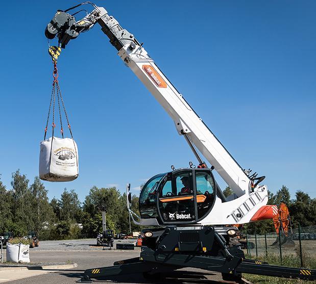 Bobcat-TR 70 260-Teleskopstapler drehbar-http://www.heftruckcentrumemmen.nl