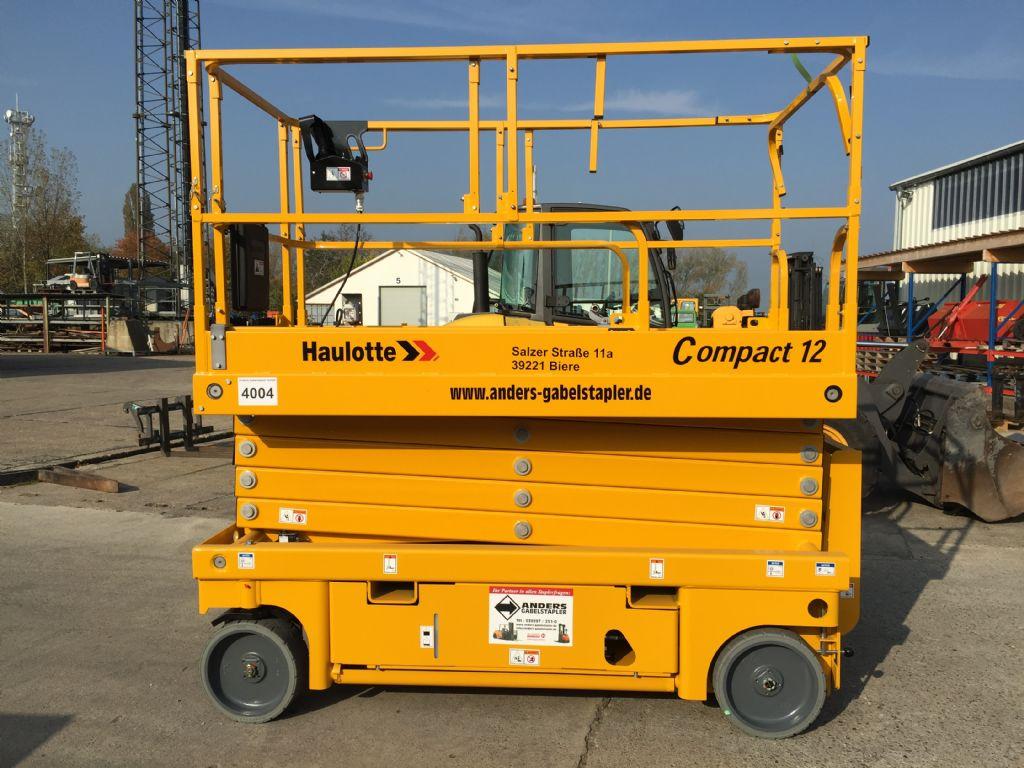 Haulotte Compact 12 Scherenarbeitsbühne www.anders-gabelstapler.de