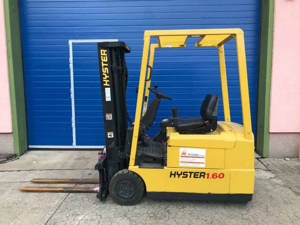 Hyster-Hyster J1.60XMT-Elektro 3 Rad-Stapler-www.andres-gabelstapler.de