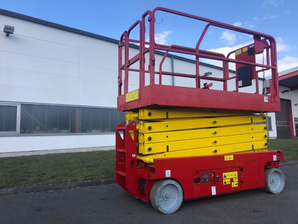 Genie GS-3246 Scherenarbeitsbühne www.staplerzentrum-leipzig.de