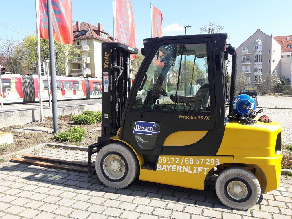 Yale GLP 35VX Treibgasstapler www.arbeitsbuehnen-staplerverleih.de
