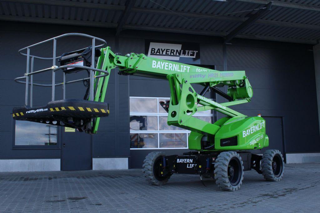 Niftylift HR 21 4x4 Gelenkteleskopbühne www.arbeitsbuehnen-staplerverleih.de