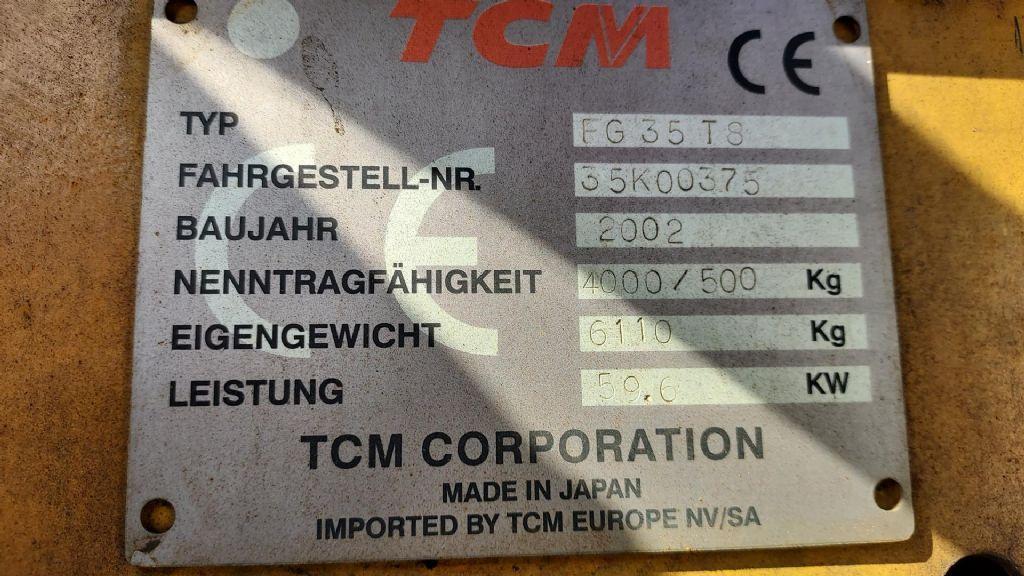 TCM TCM FG35T8 VM350 Treibgasstapler www.hangcha-gabelstapler.de