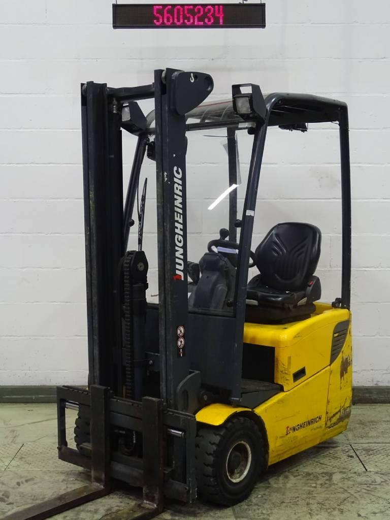 Buy Used Jungheinrich EFG110 - Electric 3-wheel forklift