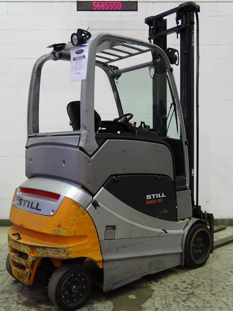 Still RX60-30L Electric 4-wheel forklift www.blackforxx.com