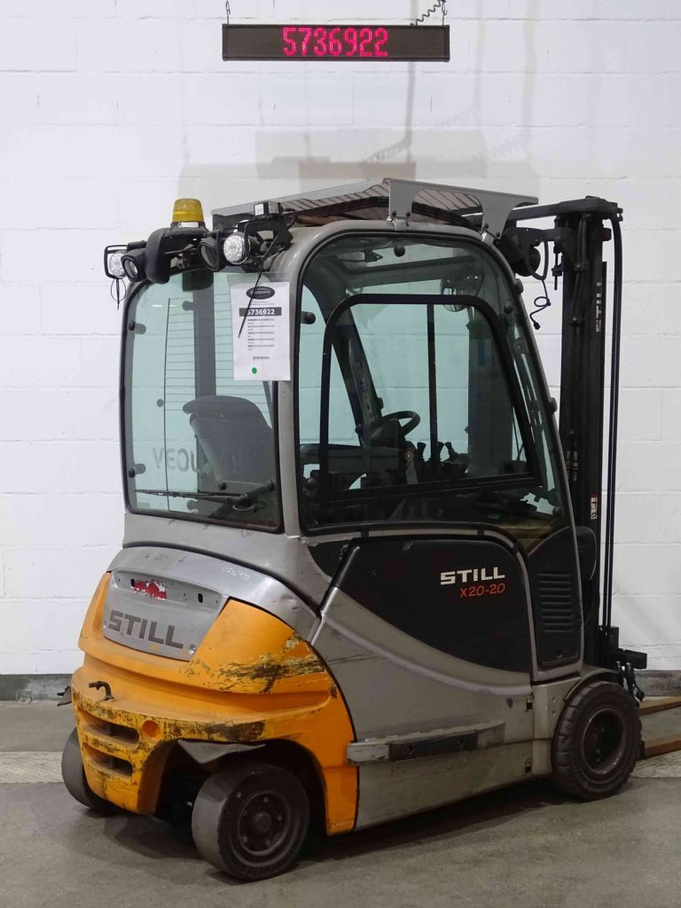 Still RX20-20P Electric 4-wheel forklift www.blackforxx.com