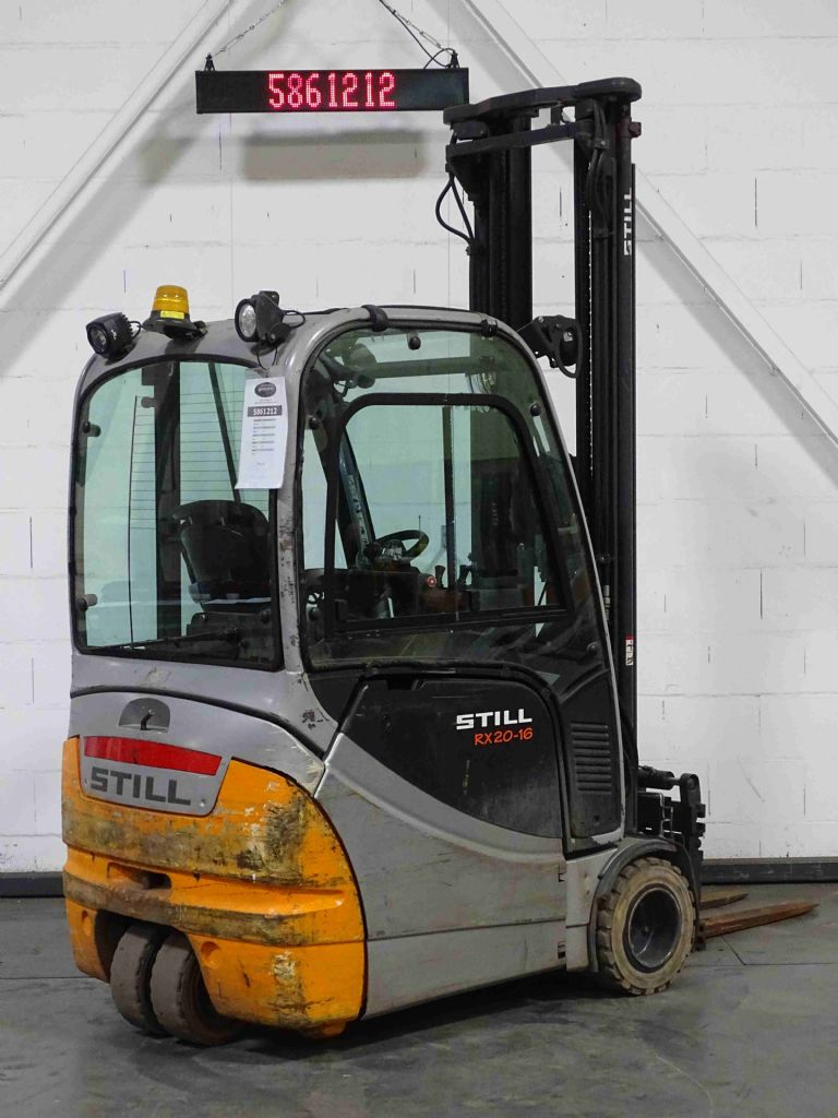 Still RX20-16 Electric 3-wheel forklift www.blackforxx.com