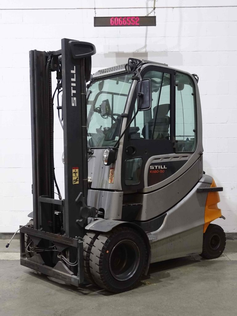 Still RX60-50 Electric 4-wheel forklift www.blackforxx.com