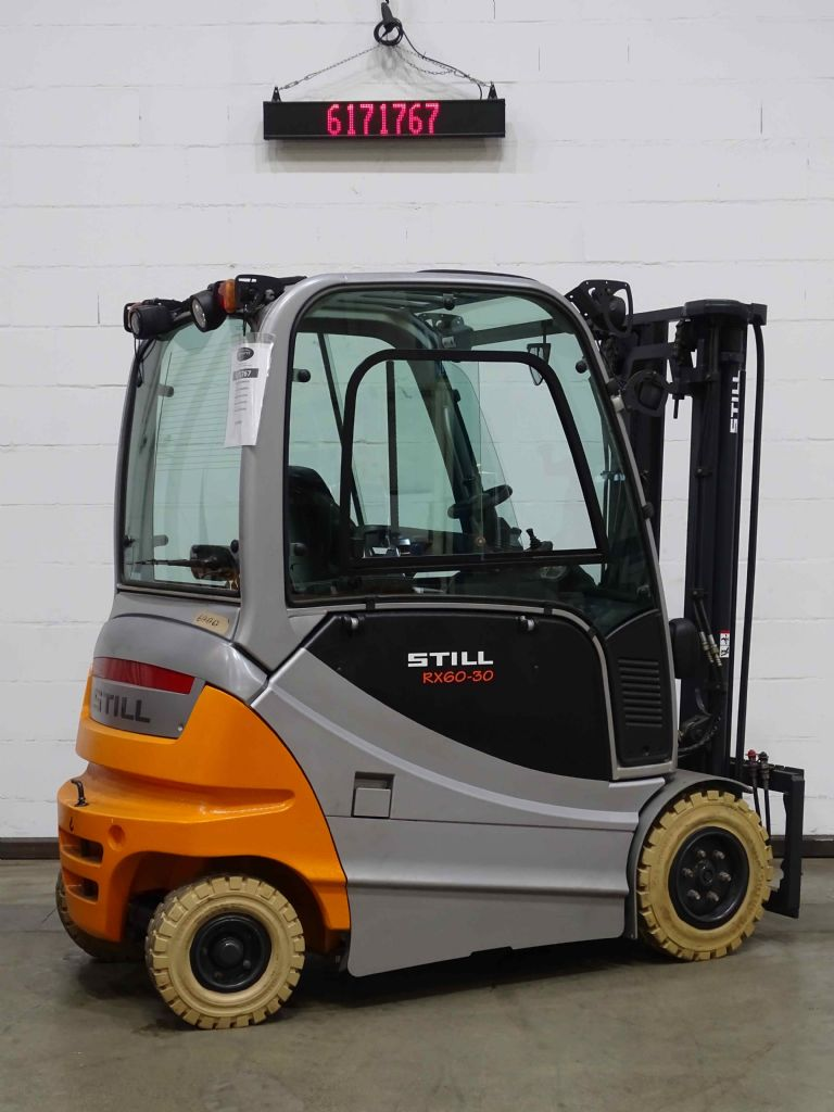 Still RX60-30/BATT.NEU Electric 4-wheel forklift www.blackforxx.com
