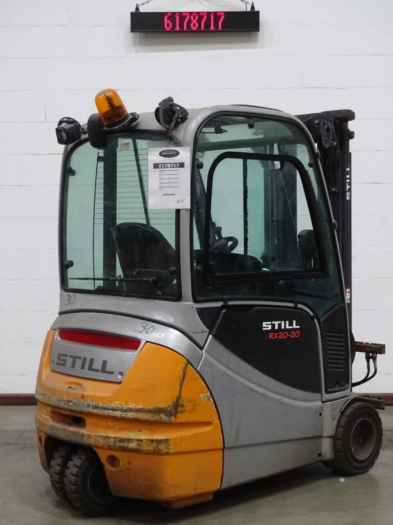 Still RX20-20 Electric 3-wheel forklift www.blackforxx.com