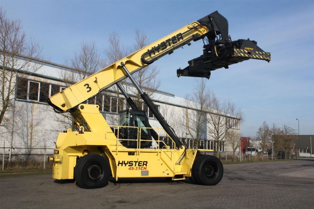 Hyster RS45-31CH Full-container reach stacker http://www.bsforklifts.com
