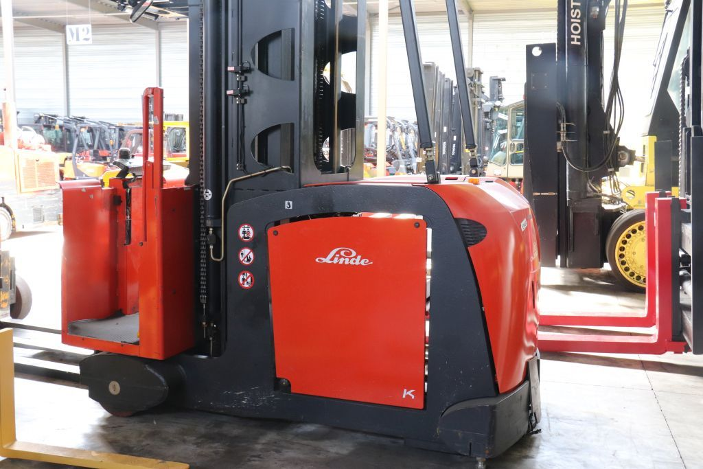 Linde K High Level Order Picker www.bsforklifts.com