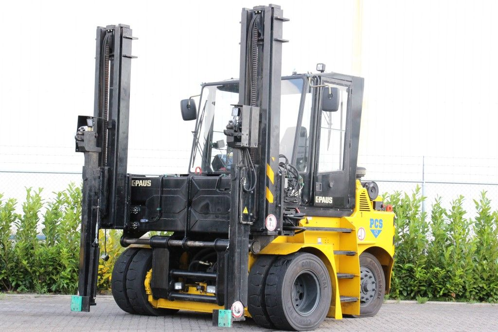 Paus PCS12 Empty Container Reachstacker http://www.bsforklifts.com
