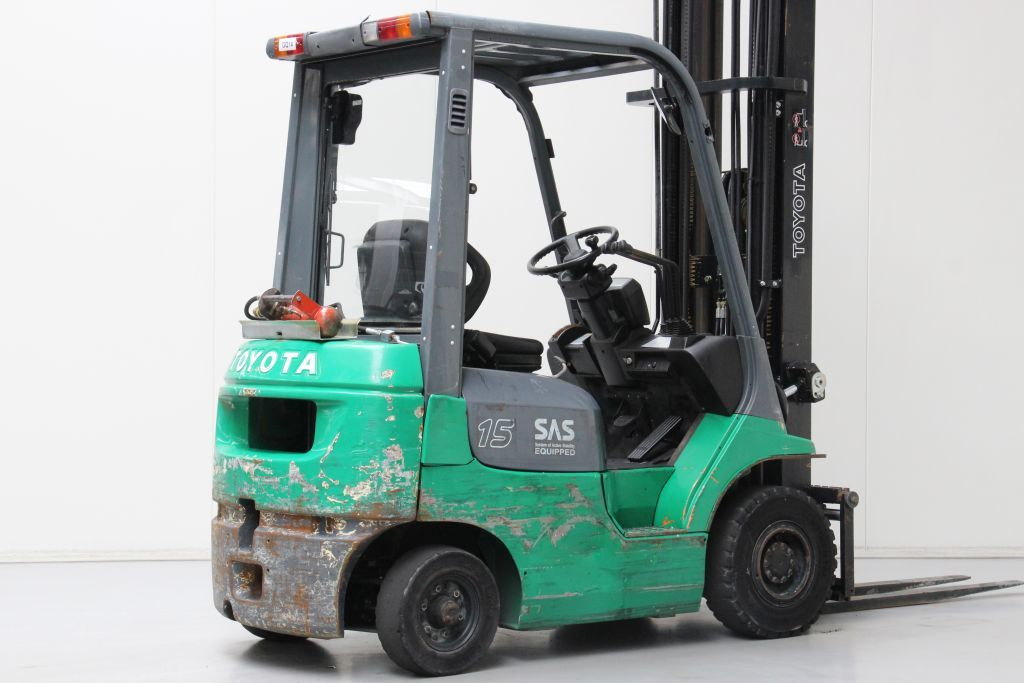 Toyota 42-7FGF15 LPG Forklifts http://www.bsforklifts.com
