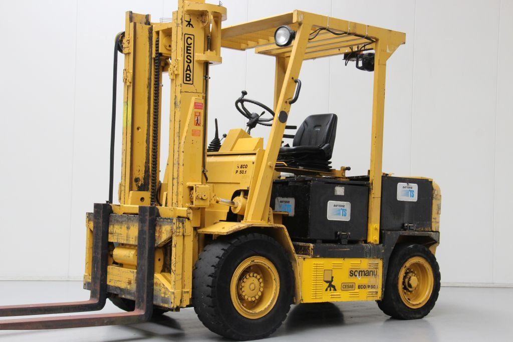 Cesab ECO/P50.1 Electric 4-wheel forklift www.bsforklifts.com
