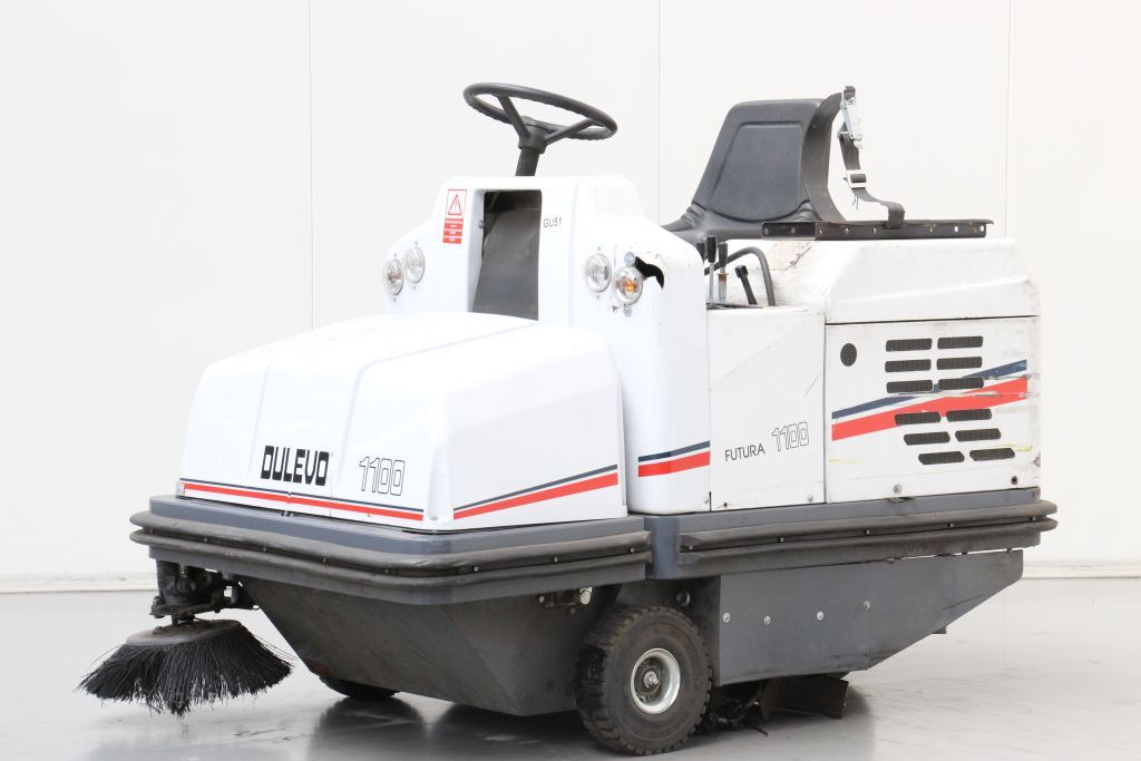 Dulevo 1100SV Sweepers and vacuum cleaning machine www.bsforklifts.com