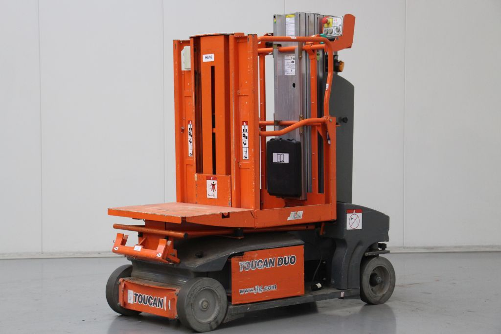 JLG Toucan Duo Vertical / Personnel Lifts www.bsforklifts.com