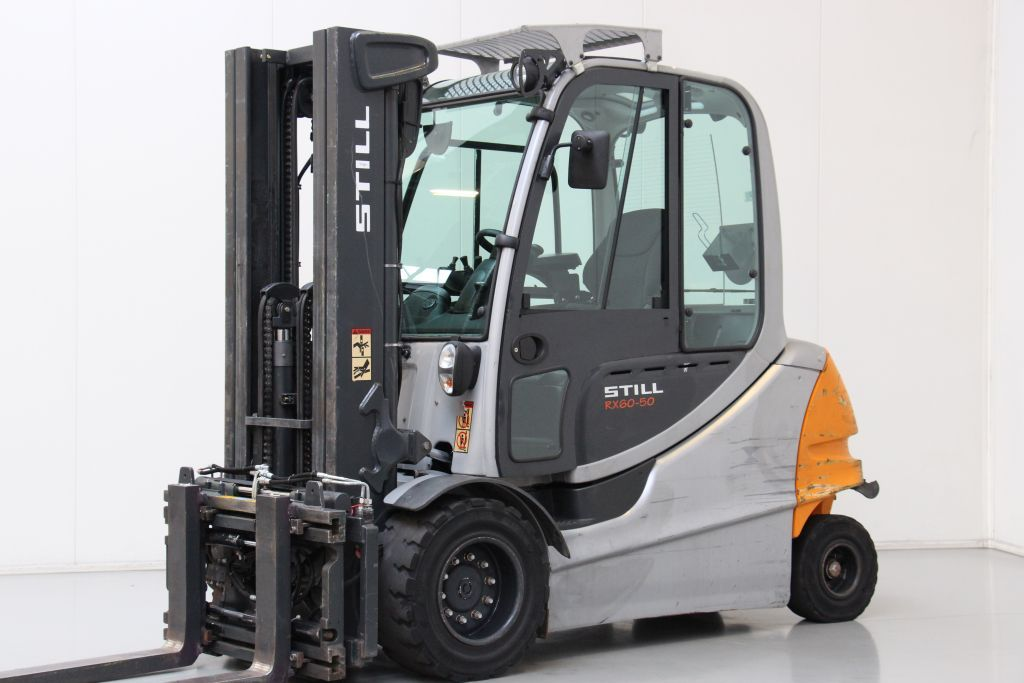 Still RX60-50 Electric 4-wheel forklift www.bsforklifts.com