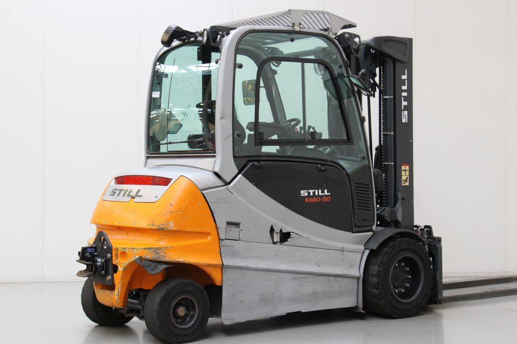 Still RX60-50 Electric 4-wheel forklift http://www.bsforklifts.com