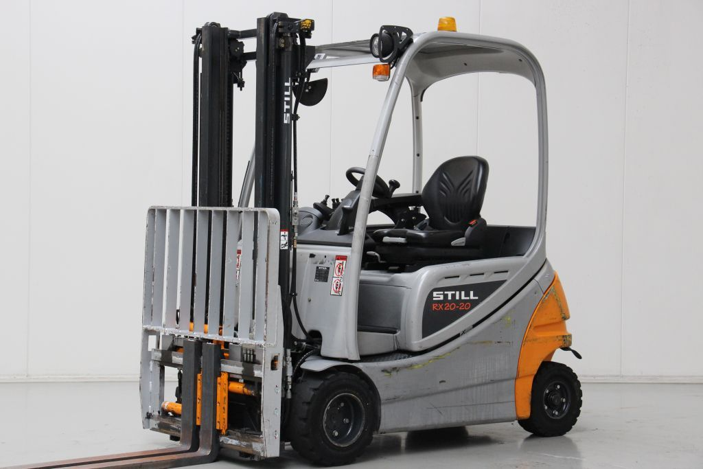 Still RX20-20P Electric 4-wheel forklift www.bsforklifts.com