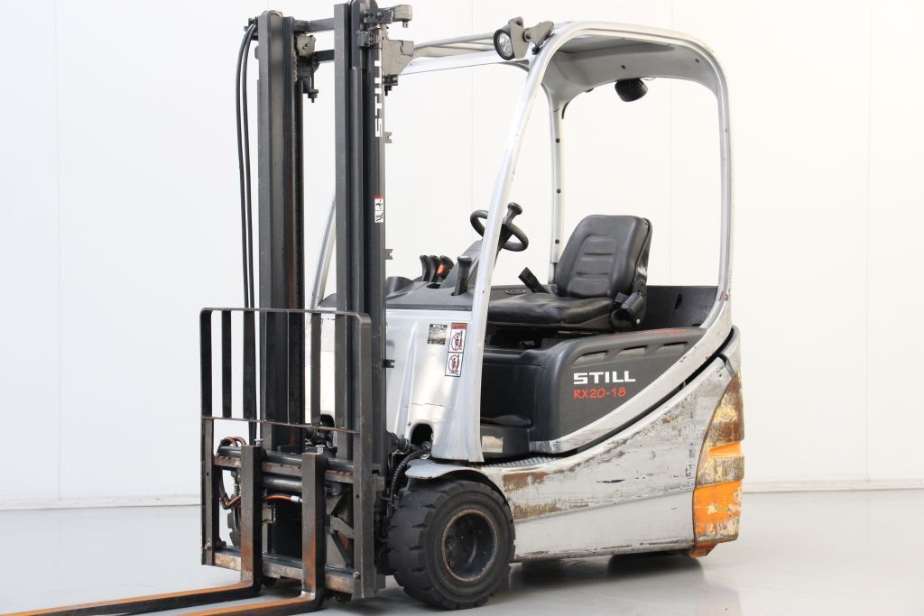 Still RX20-18 Electric 3-wheel forklift www.bsforklifts.com