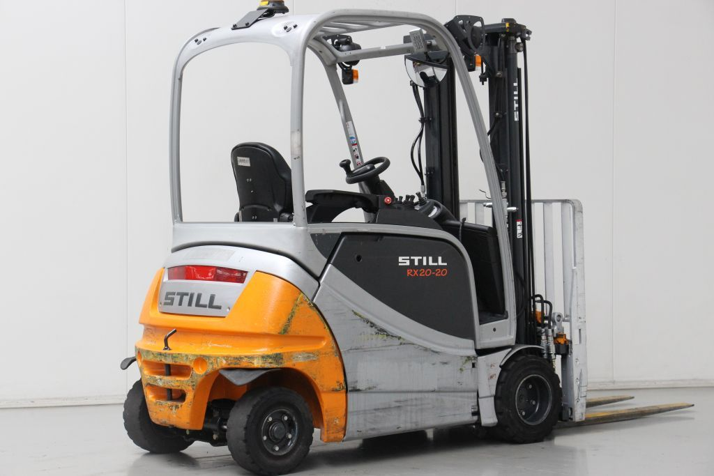 Still RX20-20P Electric 4-wheel forklift http://www.bsforklifts.com