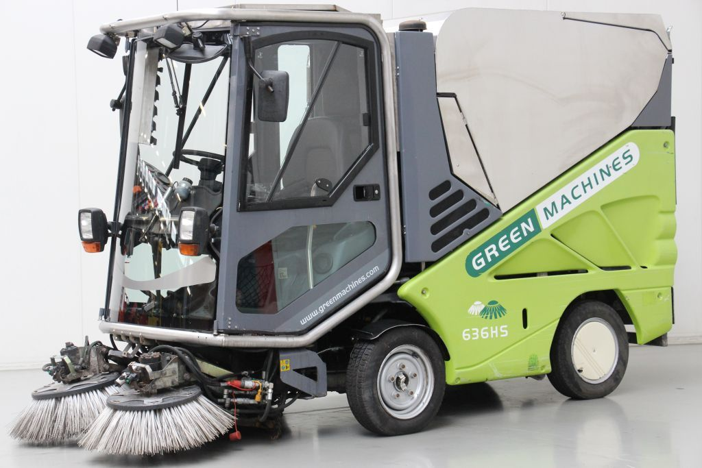 Applied Sweeper-636HS-Street cleaning machine http://www.bsforklifts.com